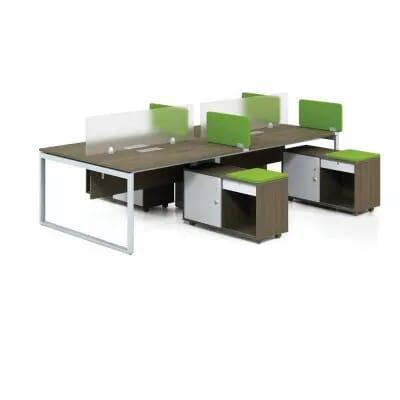 Cụm bàn làm việc chân sắt DC4015 | Modul bàn làm việc chân sắt