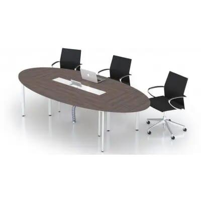 Bàn họp Oval CM2410H   Bàn hop Văn Phòng có thiết kế tối giản