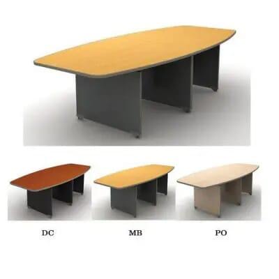 Bàn họp văn phòng hiện đại   Bàn hop có thiết kế tối giản CO2800H