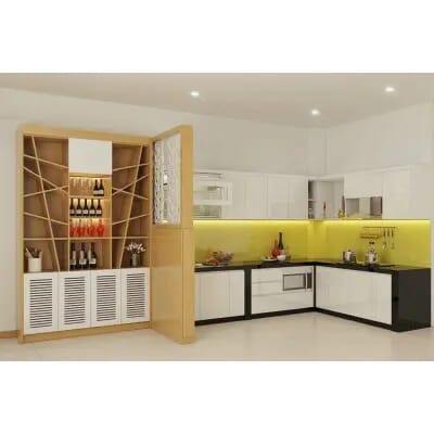 Tủ bếp gia đình TBL03
