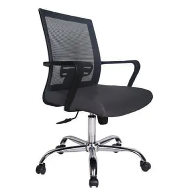 Ghế xoay văn phòng GL117 | Ghế xoay bọc vải lưới của Hòa Phát